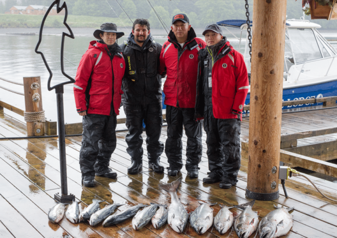 Peregrine Lodge Corporate Fishing 2
