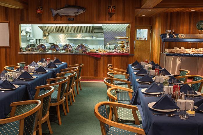 all-inclusive fishing lodge breakfast