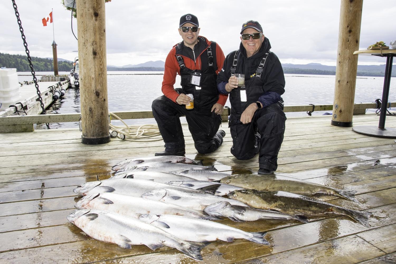 Salmon fishing, Haida Gwaii fishing