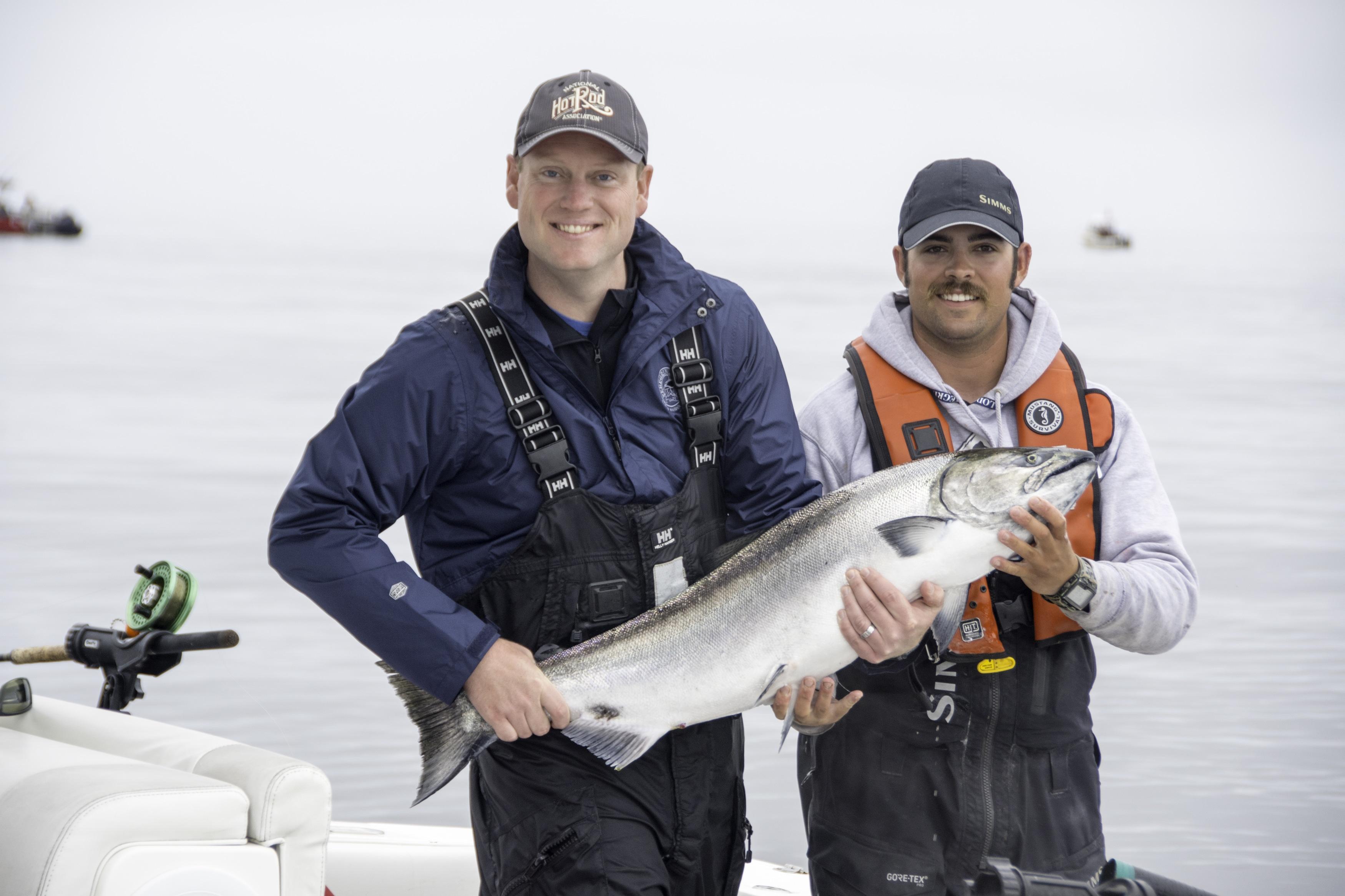 Tyee salmon, big fish